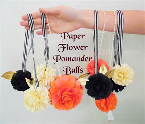 How To Make Paper Flower Balls For Wedding - paper flower balls diy wedding decor diy flower templates