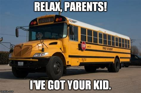 School Bus Meme - why you don t have to wear seat belts in buses 187 science abc
