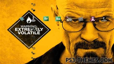 colour themes breaking bad ps3 themes 187 breaking bad ps3 theme