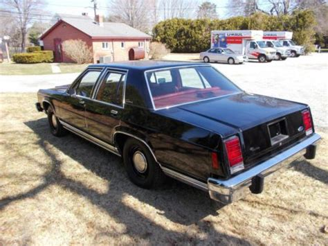 ford crown victoria 4 9 1985 sell used 1985 ford police crown victoria police in old saybrook connecticut united states