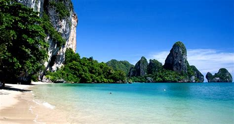 railay beach krabi thailand az