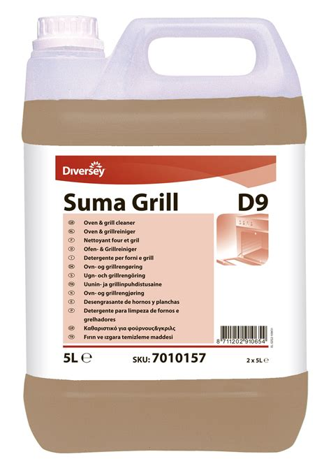 Suma Grill D9 cleaning grills and fryers ovens