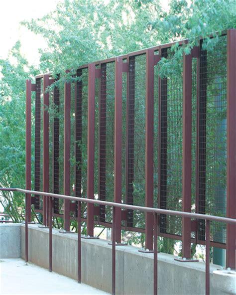 Wire Trellis Panels Mcnichols Eco Mesh 174 Modular Fa 231 Ade And Trellis System