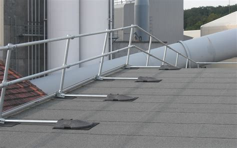 Safety Handrails Roof Distances By The Numbers Fall Protection
