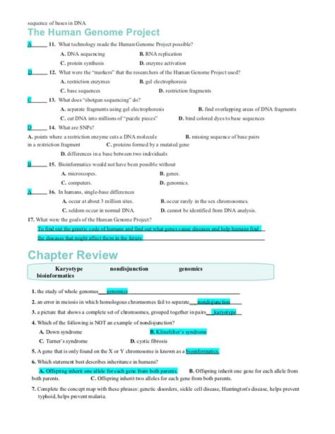 biology chapter 14 section 1 answers chapter14worksheets