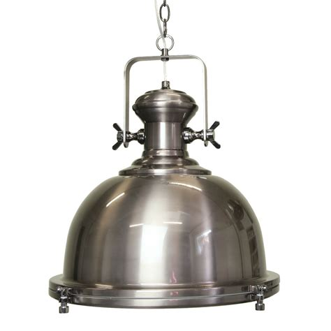 Industrial Pendant Light Gaia Industrial Antique Silver Pendant Lighting