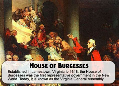 the virginia house of burgesses house of burgesses 171
