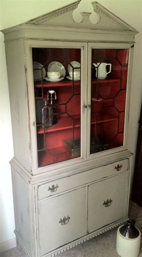 red chalk painted china cabinet 737 best hutches buffets credenzas images on