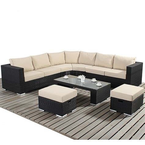Rattan Curved Corner Sofa Set Www Energywarden Net Curved Rattan Sofa