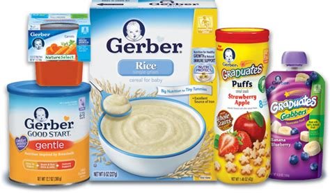 gerber discount baby treats alert up to 10 discount on gerber products