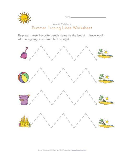 zig zag pattern worksheets summer tracing zig zag lines worksheet