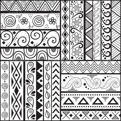 pattern for drawing around easy art patterns to draw for kids q pattern drawing