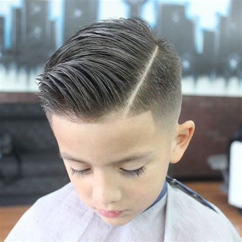 teen boys quiff cut slick haircut with a quiff hair kids pinterest