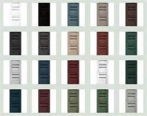 mid america shutter colors shutters by mid america