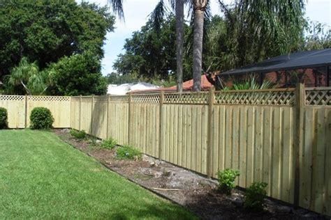 cost to fence backyard triyae com backyard fence images various design