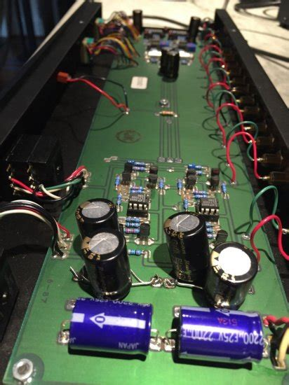 forte model  class  preamplifier mcmm stage recapped