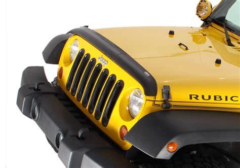 Jeep Wrangler Bug Deflector Avs Jeep Wrangler Smoke Bugflector Ii Bug Deflector
