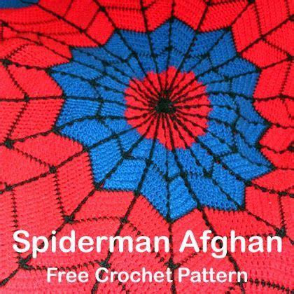 pattern for spiderman afghan crochet for children spiderman afghan free crochet