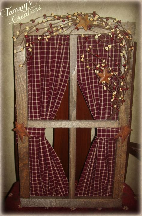 country crafts and curtains best 25 primitive windows ideas on pinterest
