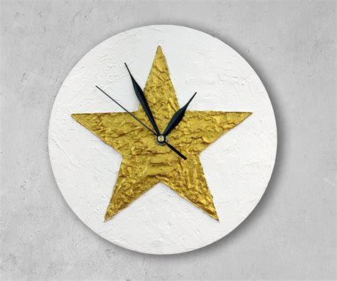 texas star home decor texas star wall clock gold star home decor christmas decor