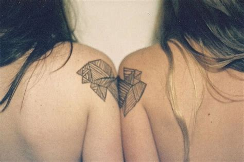 geometric tattoo friendship tattoos for couples best tattoo 2014 designs and ideas
