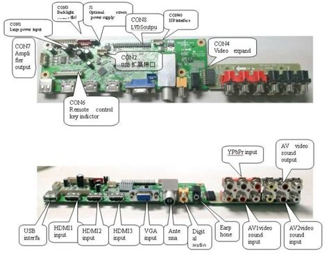 Mainboard Sharp 32 Le265i 1 lg lcd mainboard support 26 65 quot lcd led hd buy 32