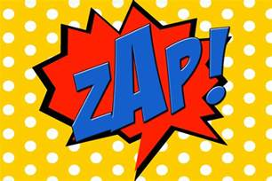 9 best images of printable comic book words zap comic