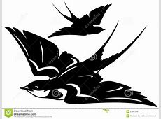 Swallow Vector Stock Images - Image: 27947394 Naturalistic Design Drawing