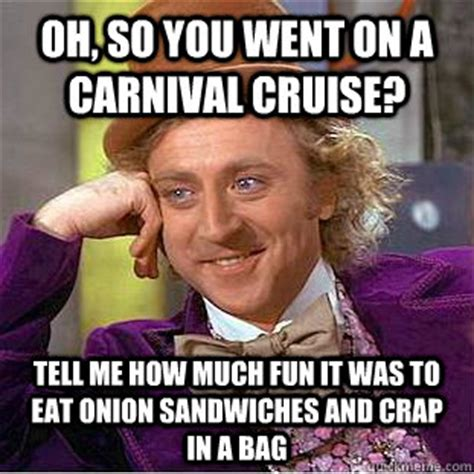 Carnival Cruise Meme - the cruise ship and cruise line discussion thread page