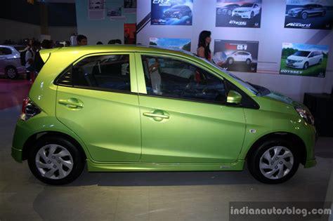 honda brio price philippines honda brio modulo side at the campi 2014 indian autos blog