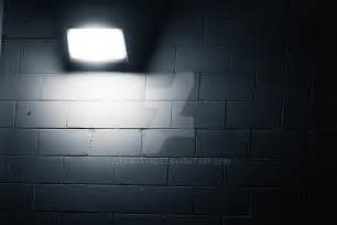 White Painted Brick Exterior - night time black n white brick wall background by danahaynes on deviantart