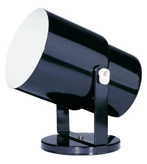 Outdoor Accent Lighting Dainolite Black 1 Light Landscape Accent Lights Black Dxl15 Bk From Utility Collection