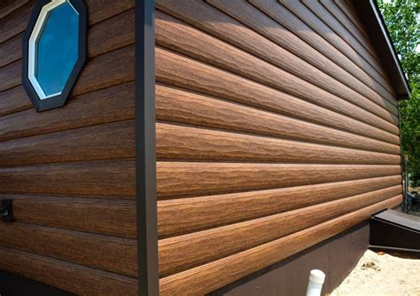 log siding in tin metal siding cost wall panels metal cladding pros cons
