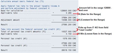 Credit Insurance Premium Formula Federal Tax Calculation Erp Human Capital Management Scn Wiki