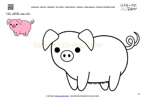 Pig Coloring Pages by Right Ear Coloring Page Pig Ears Coloring Page