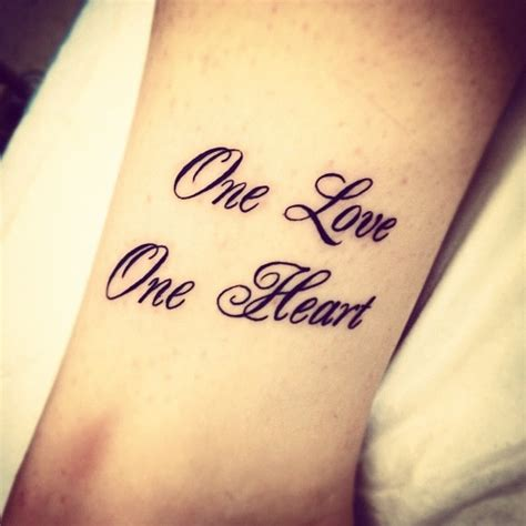 one love tattoo geneva my tattoo one love one heart bob marley tattoo
