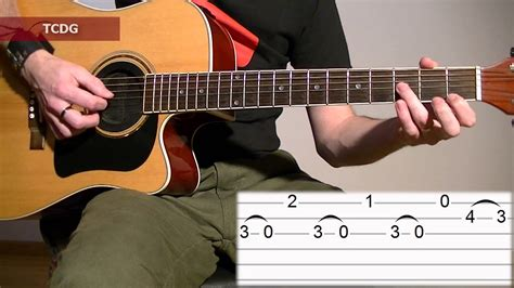 tutorial impossible guitar how to play mission impossible on acoustic guitar tab