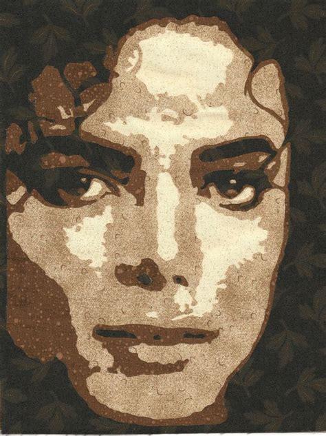 fabric portraits