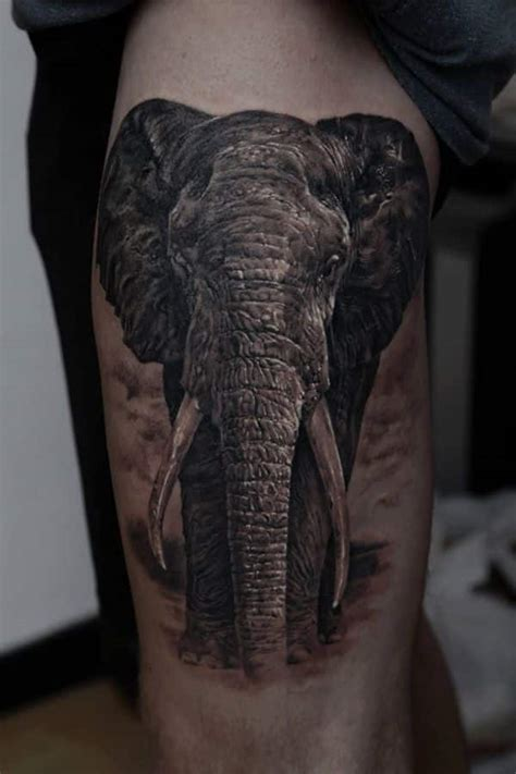 asian elephant tattoo elephant tattoos for ideas for guys and image gallery