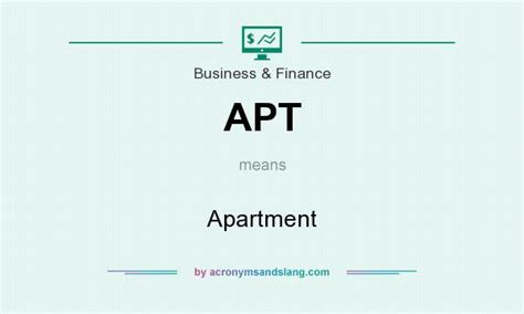 appartment abbreviation apt apartment in common miscellaneous community by