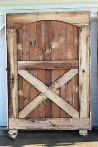barn door doors barn doors are up we closure world garden farms