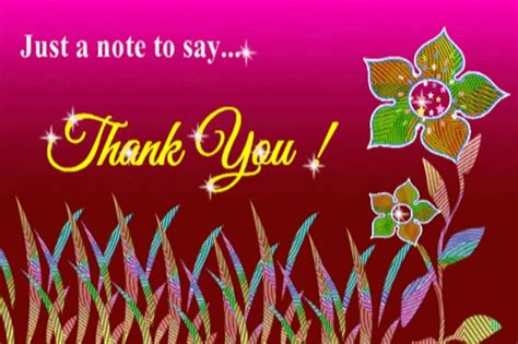 Thank You Card For Birthday Greetings