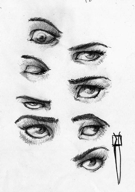 imagenes para dibujar a lapiz ojos ojos dibujados lapiz imagui