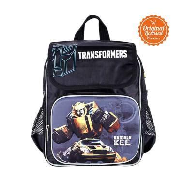 Transformer Tas Sekolah jual transformers rucksack small with flip bumblebee tas sekolah anak harga