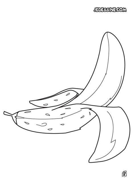 Coloriage Fruit Coloriage D Une Banane Coloriage Banane Et Dessin Bananedessin L