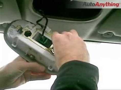 how to install led dome lights on a ford f150 with sunroof