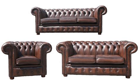 leather sofas 3 2 1 chesterfield 3 2 1 leather sofa offer antique brown