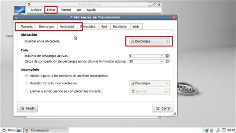 archivo a descargar descargar archivos torrent con transmission
