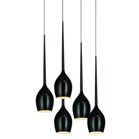 long pendant light 5 light long drop teardrop glass pendant