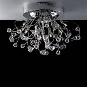 Brushed Chrome Chandelier Brizzo Lighting Stores 24 Quot Sfera Modern Flush Mount Chandelier Polished Chrome